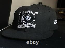 2005 New Era Rocafella 10th Anniversay Fitted Hat Kanye Jay Z Merch Tour Roc