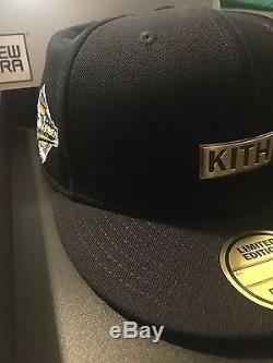 2015 KITH Yankees New Era Fitted Hat BRAND NEW 7 1/4 Ronnie Fieg LE 250