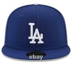 2020 MLB World Series Champions Los Angeles Dodgers New Era 59FIFTY Fitted Hat