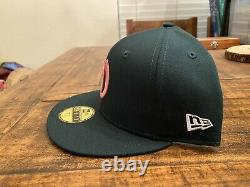 2021 OAKLAND ATHLETICS MOTHER'S DAY NEW ERA FITTED HAT 7 3/4 Dark Green Pink A's