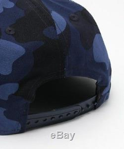 A BATHING APE COLOR CAMO NEW ERA SNAPBACK CAP 9FIFTY 3 color Mens Hat From Japan
