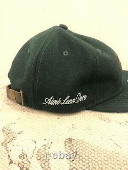 Aime Leon Dore X New Era Wool Mets Chain Stitch Hat Forrest Green In Hand