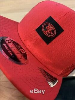 Authentic New Era San Francisco 49ers Shanahan Sideline Trucker Hat 9FIFTY RARE