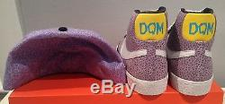 Authentic Nike Blazer Premium Dave's Quality Meat DQM New Era violet grey hat