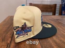 BUFFALO BISONS 25TH ANNIVERSARY SEAN WOTHERSPOON NEW ERA FITTED Hat 7 3/4