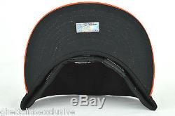 Baltimore Orioles Black & Orange On-Field New Era 59fifty Fitted Cap