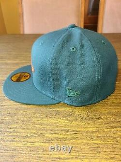 Baltimore Orlioles Pink Bottom New Era 59fifty Fitted 7 1/4 Hat Club Green Ham