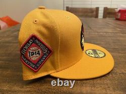 Boston Braves Hat Club Exclusive 1914 World Series Side Patch Fitted Cap 7 3/4