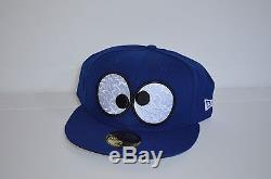 COOKIE MONSTER EYES NEW ERA HAT 7 & 5/8 NWT BLUE LIMITED RELEASE
