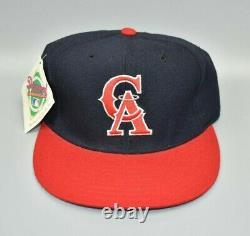 California Angels New Era 59FIFTY MLB Vintage 90's Fitted Cap Hat Size 7 1/4