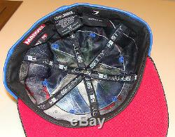 Captain America New Era Cap Hat Fitted 7 1/2 Character Suit Marvel 59Fifty New