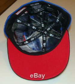 Captain America New Era Cap Hat Fitted 8 Character Suit Marvel 59Fifty New
