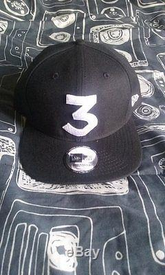Chance the Rapper x New Era'3' Hat Snapback RARE Sold Out Exclusive