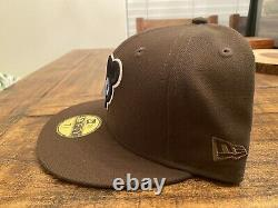 Chicago Cubs 1962 All Star Game New Era Fitted Hat Brown Glow In The Dark 7 5/8