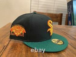 Chicago White Sox Comiskey Park Upper Deck New Era My Fitteds Hat 7 3/4