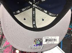 Dallas Cowboys STARRY FIT 59Fifty Fitted New Era NFL Navy Hat