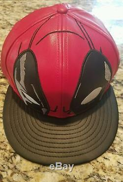 Deadpool Marvel New Era Big Face Character 59Fifty Rare and Exclusive 7 1/2 Hat