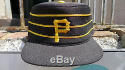 Deadstock PITTSBURGH PIRATES Hat Pillbox Fitted New Era vintage MLB vtg nos box
