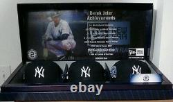 Derek Jeter Final Season Hat Collection Set Limited Edition, only 2014 Made
