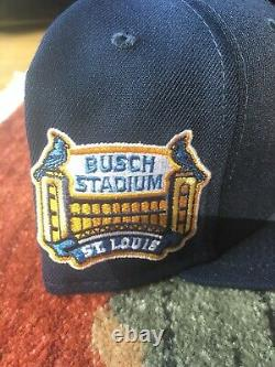 Exclusive Hat Club New Era 59fifty Beer Pack Cardinals Busch Stadium Patch 7 3/8