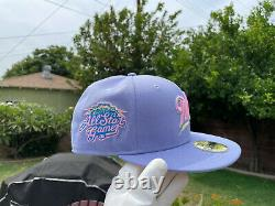 Exclusive New Era 59Fifty Tulip Sugar Shack Milwaukee Brewers 2002 All Star Game