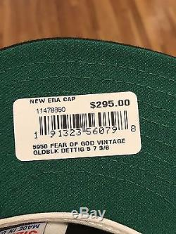 Fear Of God 5th Collection New Era Hat Fitted New Jeans Denim Jacket Shirt Gold
