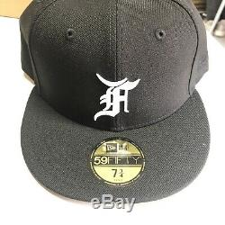 Fear Of God Essentials Fitted New Era Hat 7 3/4 Jerry Lorenzo New Sold Out