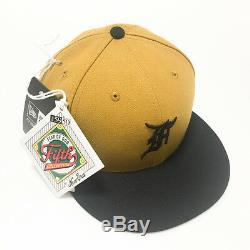 Fear Of God FOG 5th Collection Newera Cap Gold Size 7 1/2 KOREA Special Package