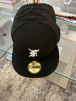 Fear of God Essentials FOG Authentic New Era 5950 Fitted Cap 59FIFTY 7 5/8