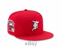 Fear of God New Era Fitted Baseball Cap Hat 7 1/8 Red Reds Griffey 2000 #30