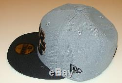 Flock Cut New Era Cap Hat Fitted 7 1/8 Star Wars 59Fifty Suede Outlined Logo