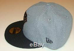 Flock Cut New Era Cap Hat Fitted 7 3/8 Superman 59Fifty Suede Outlined Logo
