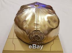 Genuine New Era Star Wars C3po 2015 Fitted Cap 59fifty 7 1/8 Gold Box Le