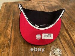 Hat Club Boston Red Sox Fenway Park Navy Red UV New Era Fitted Hat 7 5/8