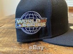 Hat Club Chicago White Sox Blueberry 05 World Series Side Patch fitted cap 7 3/4