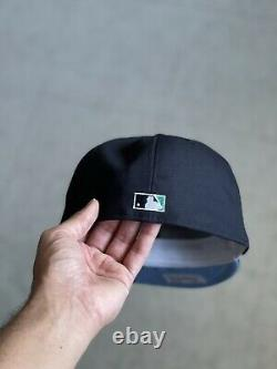 Hat Club Exclusive 7 1/4 New Era Seattle Mariners 40th Anni Patch Icy Blue UV