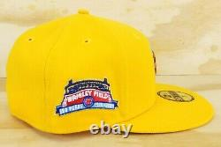 Hat Club Exclusive Cereal Pack Chicago Cubs Wrigley Field Patch Hat 7 1/2