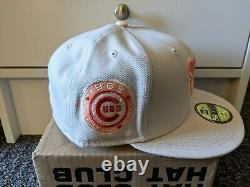 Hat Club Exclusive Chicago Cubs 1962 All Star Game Patch Peach Stone UV 7 3/8