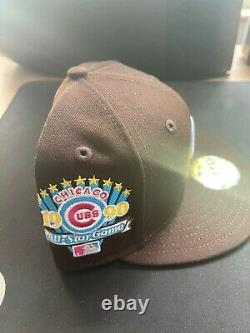 Hat Club Exclusive Chicago Cubs 1990 All Star Game Patch Cereal Pack Size 7