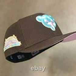 Hat Club Exclusive Chicago Cubs Spumoni Wrigley Patch New Era Fitted 7 3/8