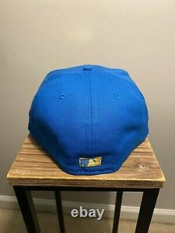 Hat Club Exclusive Daybreakers Neon Blue Colorado Rockies New Era Fitted 7 5/8