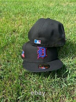 Hat Club Exclusive Detroit Tigers 1984 World Series Green UV With Pin