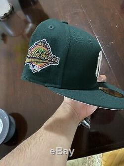 Hat Club Exclusive Green Eggs & Ham Yankees 1996 WS Fitted Hat 7 1/2