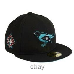 Hat Club Exclusive Griffey Freshwater Emerald New Era 59Fifty Fitted MLB Orioles