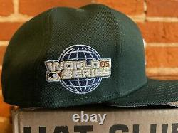 Hat Club Exclusive Houston Astros Blue UV World Series Patch Hat 7 1/2