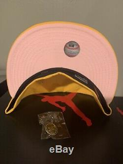 Hat Club Exclusive Los Angeles Dodgers Pink Lemonade 1981 WS Patch Size 7 1/2