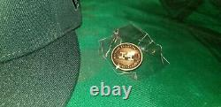 Hat Club Exclusive Marlins Hurricanes Collection 10th Anniv. Patch Orange UV Hat