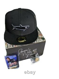 Hat Club Exclusive Miami Sharks 5950 Size 7 1/2 Brand New In Box Willie Beamen