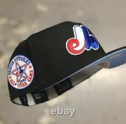 Hat Club Exclusive Montreal Expos 1982 AS Game Icy Blue UV fitted 7 1/4
