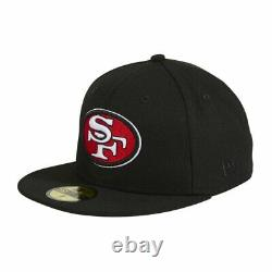 Hat Club Exclusive NFL San Francisco 49ers Pink Brim UV New Era 59Fifty Fitted